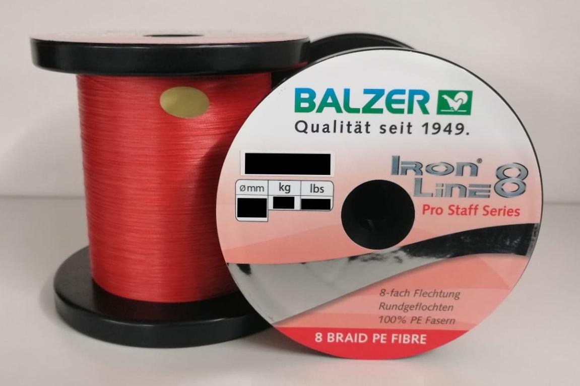 Balzer Iron Line 8 Gelb 150m 0,16mm 11,6kg geflochtene Schnur