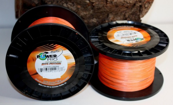 Power Pro Bite Motion Orange Black 10m