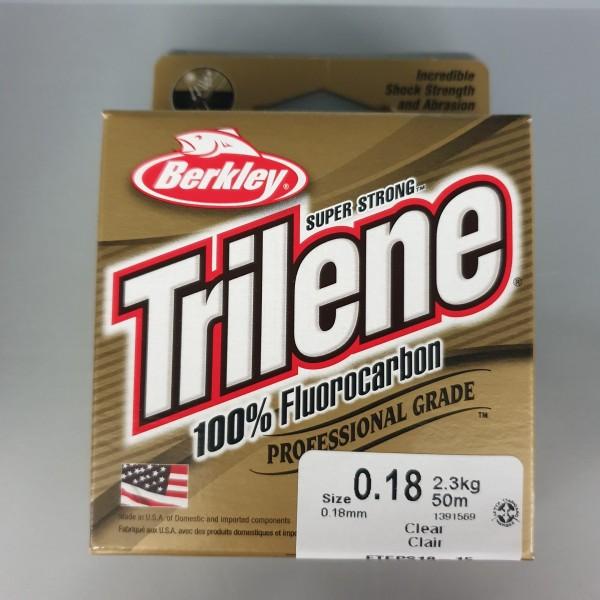 Berkley Trilene 100% Fluorocarbon 0,18mm 2,3kg 50m Clear