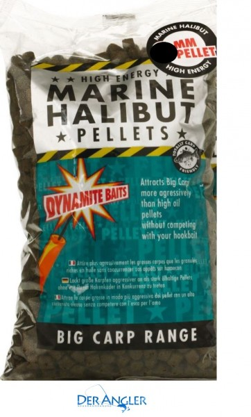 Dynamite Baits Marine Halibut Pellets 14mm 900gr