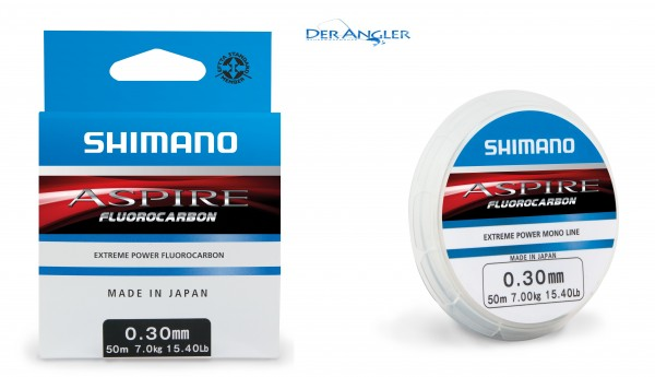 Shimano Aspire Fluocarbon 50m 0,12mm