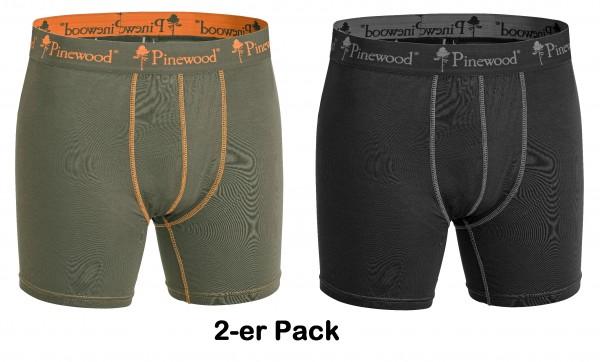 Pinewood Bambus Boxershort 2-er Pack