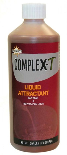 Dynamite Baits CompleX-T Liquid Attractant &Re-hydration Soak 500ml