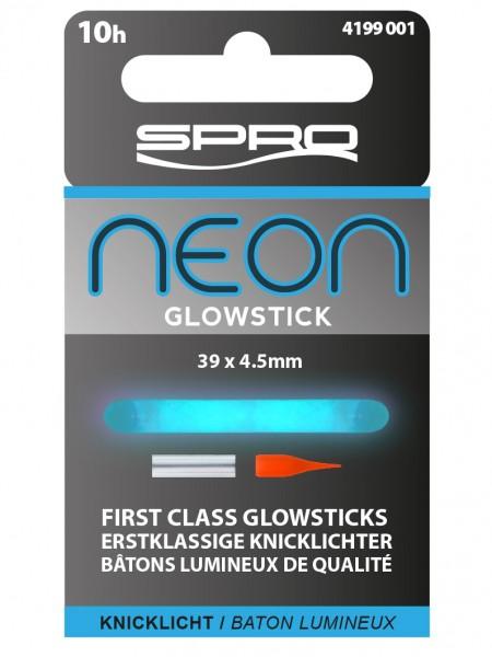 Spro Neon Glow Stick Blue 39x4,5mm Blau