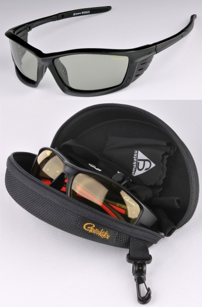 GAMAKATSU G-GLASSES Wings / Racer Polarisationsbrille