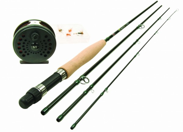 DAM FORRESTER FLY ALLROUND FLY FISHING KIT Fliegenfisch Set