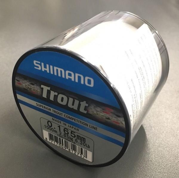 Shimano Trout 1000m 0,165m 2,85kg