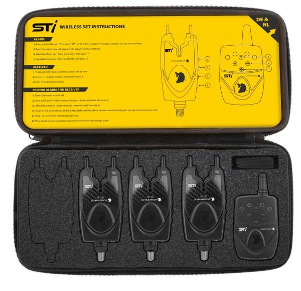 STRATEGY STi Alarm 3+1 Funkbissanzeiger Set