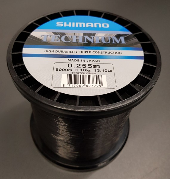 Technium Black 5000m 0,255 Großspule