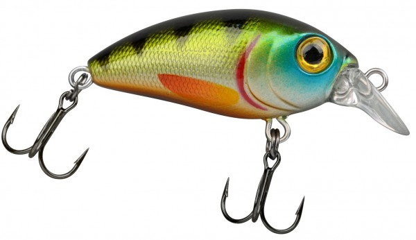 Trout Master MINI CRANK SL 30 Green Perch