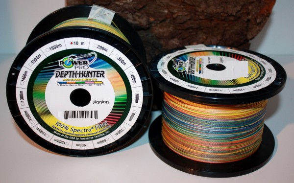 Power Pro Depth Hunter Multicolour 10m
