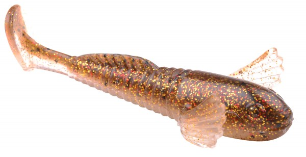Spro Predator SHY GOBY 10cm Sexy Gold Back 10cm 3 Stück