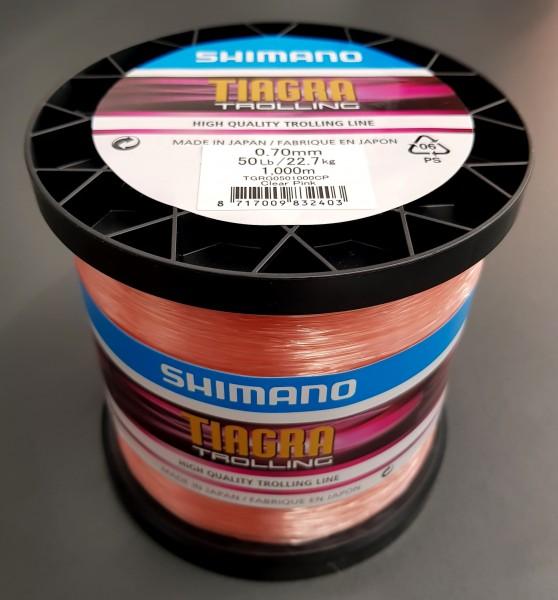 Shimano TIAGRA TROLLING 0,70mm 22,7kg 50LB 1000M CLEAR PINK