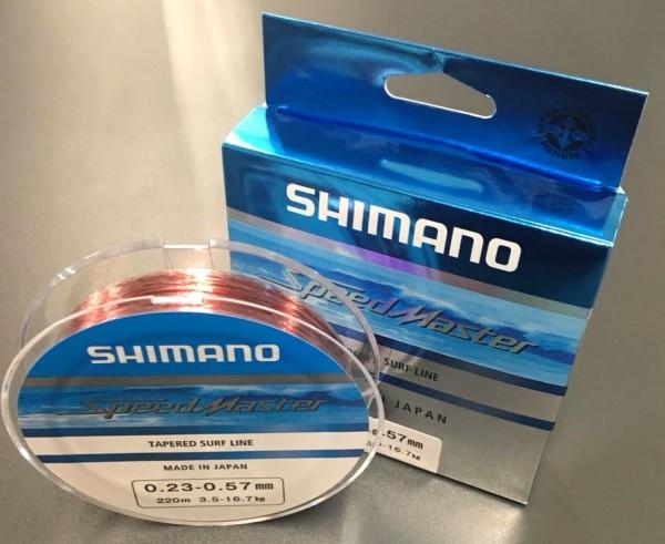 Shimano Speedmaster Tapered Surf Line 220m 0,23mm - 0,57mm