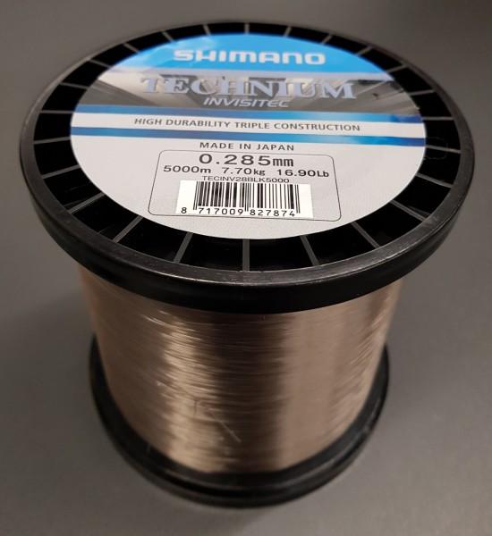 Shimano Technium Invisitec 5000m 0,285mm 7,70kg Großspule