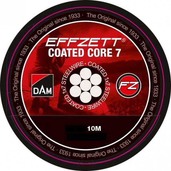 DAM Effzett Coated Core 7 Edelstahlvorfach 10m
