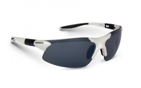 Shimano Stradic White Sonnenbrille Polbrille Race Brille NEW