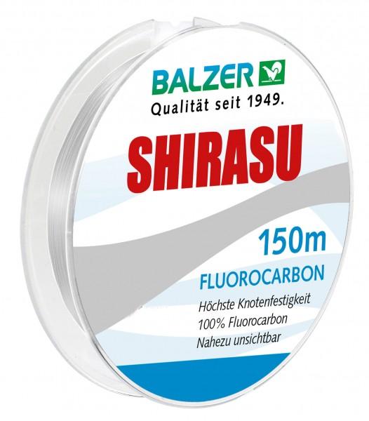 Balzer Shirasu Fluorocarbon 150m 0,18mm 0,21mm 0,24mm