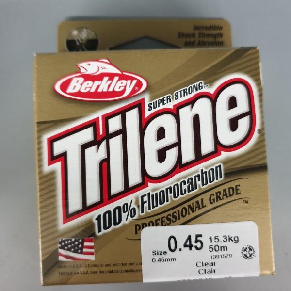 Berkley Trilene 100% Fluorocarbon 0,45mm 15,3kg 50m Clear