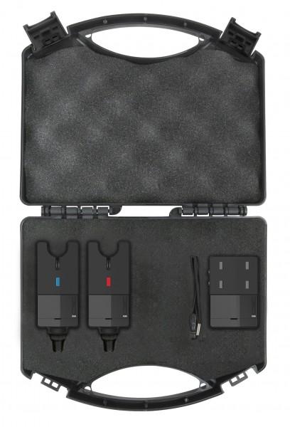 Spro C-Tec Run Alarm Set 2+1 Blue & Red Funkbissanzeiger