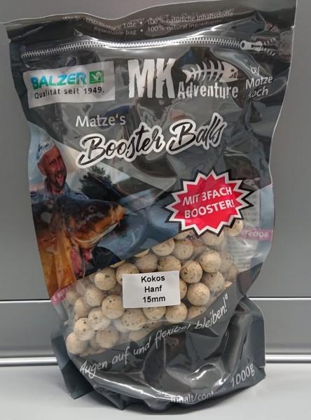 Balzer Matze Koch Matzes Booster Balls 15mm 13 Sorten 1kg Boilies