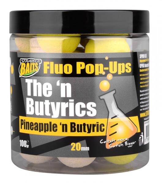 Strategy Pop Ups PINEAPPLE'N BUTYRIC 20mm 100g