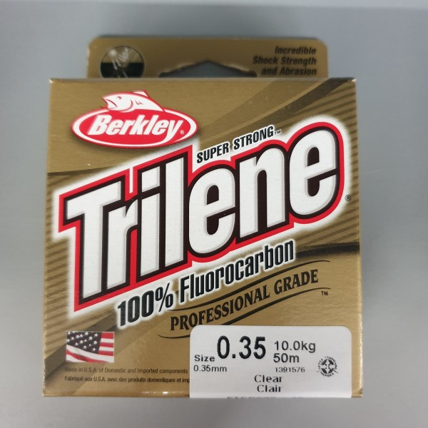 Berkley Trilene 100% Fluorocarbon 0,35mm 10kg 50m Clear