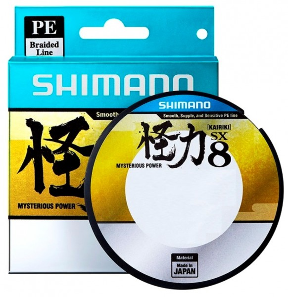 Shimano Kairiki PE 0.18mm Steel Gray 14.0kg 150m Grau