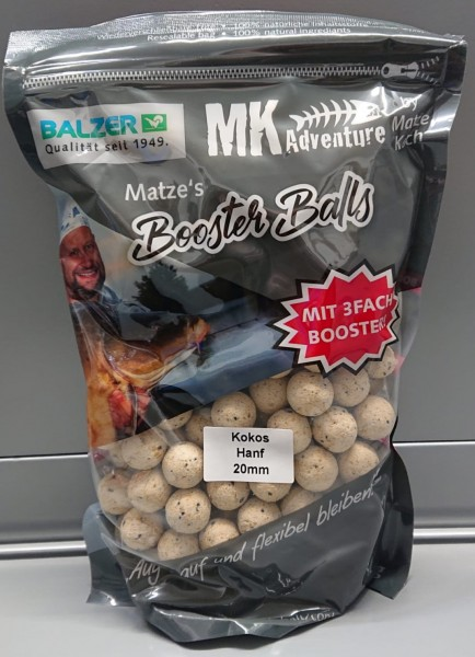 Balzer Matze Koch Matzes Booster Balls 20mm 13 Sorten 1kg Boilies