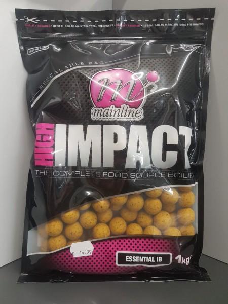 Mainline High Impact Boilies Essential I.B. 20mm, 1 kg