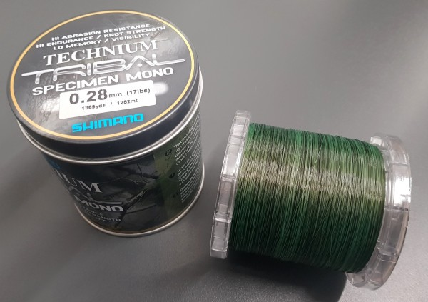 Technium Tribal 1252m 0,28mm 7,70kg Großspule Dose