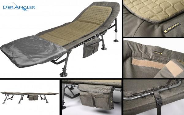 Strategy Low Profile Bedchair 6-leg verstellbar 6 Bein Liege Bed Chair Matratze