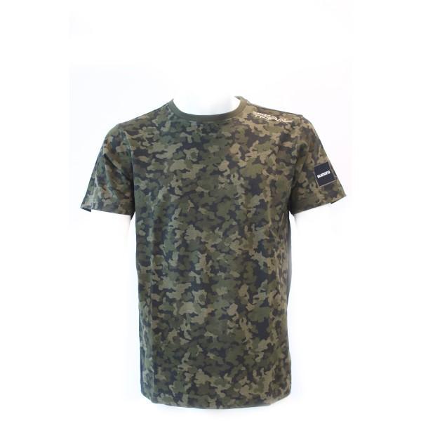 Shimano T-Shirt 2018 XTR Camouflage S, M, L, XL, 2XL, 3XL