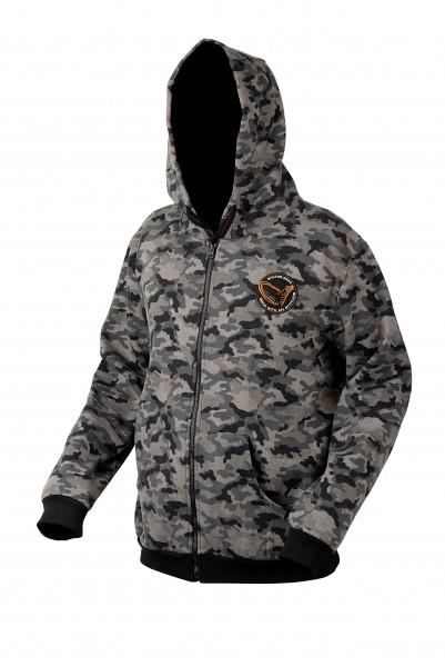 Savage Gear Black Savage Camo Design Zip Hoodie S M L XL XXL