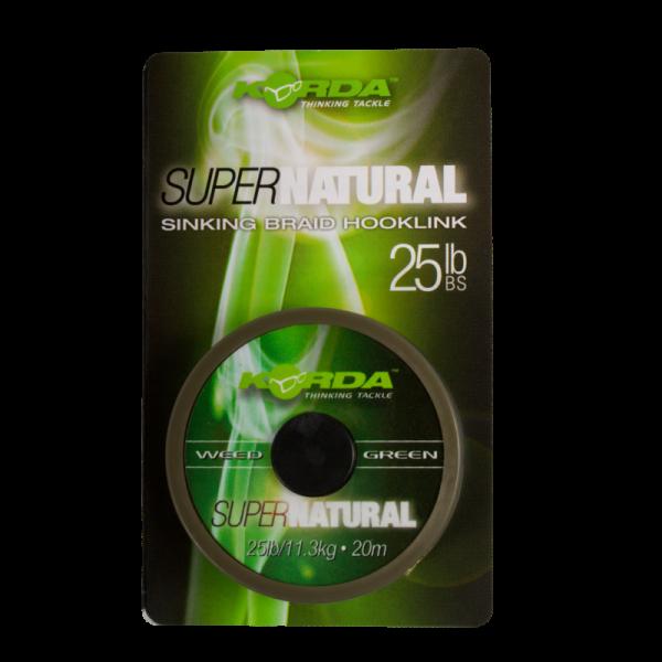 Korda Super Natural Weed Green 25lb 20m