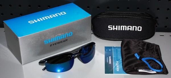 Shimano Sunglass Tiagra 2 Polarisationsbrille Polbrille Sonnenbrille