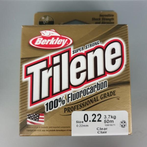 Berkley Trilene 100% Fluorocarbon 0,22mm 3,7kg 50m Clear