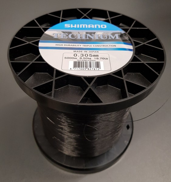 Shimano Technium Black 5000m 0,305 Großspule