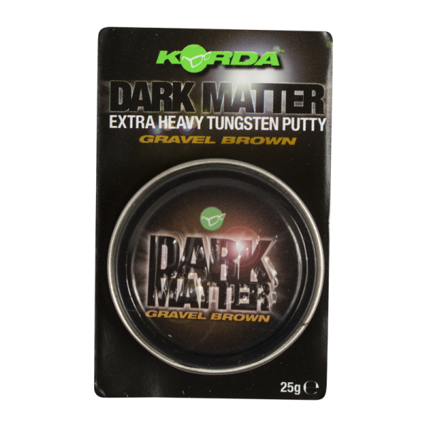 Korda Dark Matter Tungsten Rig Putty Gravel 25g