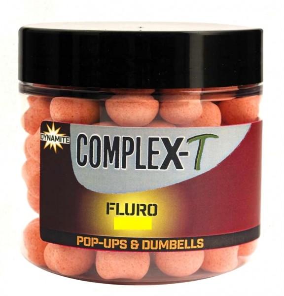 Dynamite Baits CompleX-T Fluro Pop-Ups & Dumbells 15mm