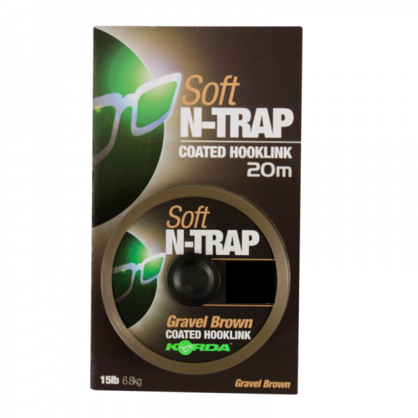 Korda N-Trap Soft 20lb 9kg Gravel Brown