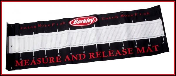 Berkley Raubfisch Messmatte Abhakmatte 120cm Maßband Measure & Release Mat