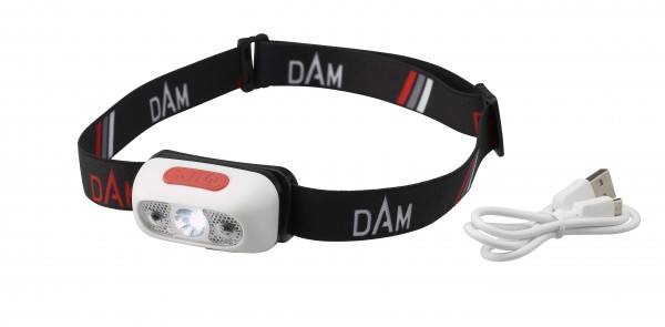 DAM USB Chargeable Sensor Headlamp Kopflampe