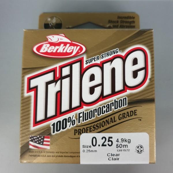 Berkley Trilene 100% Fluorocarbon 0,25mm 4,9kg 50m Clear