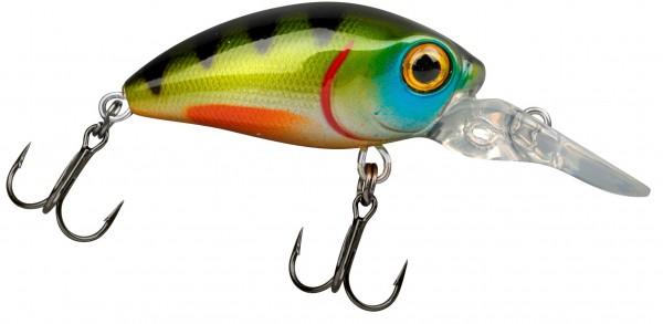 Trout Master MINI CRANK LL 30 Green Perch