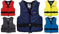 Schwimmweste Baltic Aqua Navyblau Rot Gelb Royalblau Schwarz S M L XL S 30-50kg Schwarz