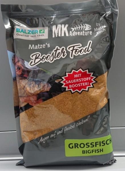 Balzer Matze Koch Booster Food 1kg Karpfen Schleie Aal Barsch Feeder Brasse Großfisch Allround usw.