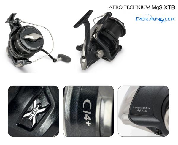 SHIMANO Aero Technium 12000 XTB MGS Magnesium
