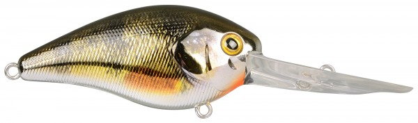 Spro IKIRU CRANK60 XXL 6,0cm 14g CHROME YELLOW PERCH
