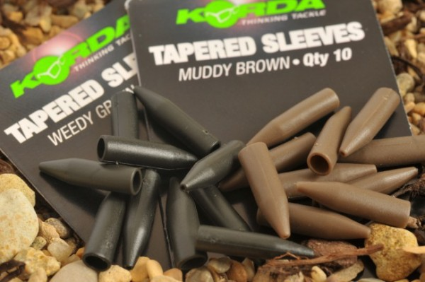 Korda Tapered Silicone Sleeve Brown